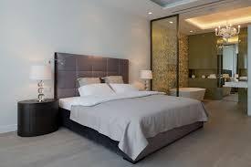 chambre avec salle de bain chambre avec salle de bain fusion d espaces harmonieuse salle de