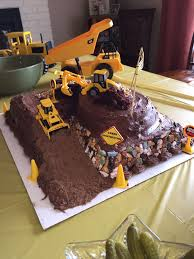 Dump Truck, Excavator, Backhoe Birthday Cake | Baby Birthday In 2018 ... Truck Cake Kay Cake Designs Monster Truck My First Wonky Birthday Design Parenting Monster Cakes Hunters 4th Decoration Ideas Wedding Academy Cakes From Maureens Semi In 2018 Pinterest 10 Dump For Boys Photo Muddy