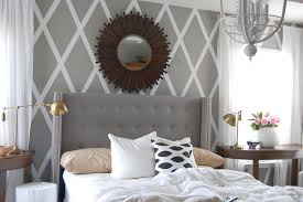 Gray Velvet King Headboard by Classic Wingback Bed Design And Color U2014 Derektime Design