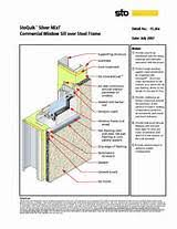 Kawneer Curtain Wall Cad Details by Aluminum Window Kawneer Aluminum Window Detail