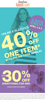 Last Call Coupons - 40% Off A Single Item At Nieman Emirates Promotional Codes 70 Off Promo Code Oct 2019 Myntra Coupons 80 New User 1000 Uber Coupon First Ride Free Uberdavelee Emails 33 Examples Ideas Best Practices Hubspot Dynamic Generation Gs1 Databar Format Barcodes Neiman Marcus Deals Cheap Motels Near Ami Airport Select Bali Playtex Maidenform Bras 9 Store Pickup At Macys Official Travelocity Discounts Studio Calico Last Call 999 Past Kits Sale Msa Call 40 Off Ends Today Additionelle Email Archive