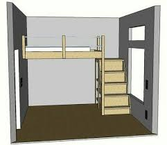 10 best loft beds images on pinterest 3 4 beds bed ideas and