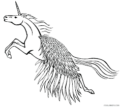 Gremlins Coloring Pages Unicorn With Wings Unicorns