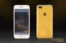 24K Gold iPhone 7 Plus – 256 Gb