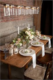 Rustic Table Decorations Impressive Elegant