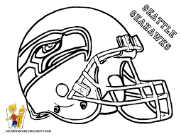 Printable Seattle Seahawks Coloring Page For Kids