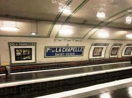 metro denis porte de porte de la chapelle metro station 19 th 1916 structurae