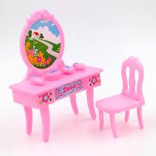 set de bureau fantaisie nouvelle 3 styles fantaisie poupée table commode enfants filles