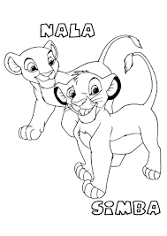 Lion King Coloring Page Pages Online Game 2 Simbas Pride Colouring Sheets Printable Full Size