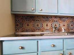 mexican tile backsplash kitchen floor tiles murals painted