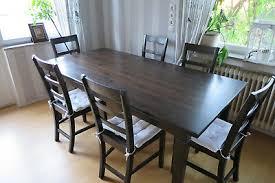 ikea esstisch 6 stühle kiefer massiv 190 x 95 x 76 cm