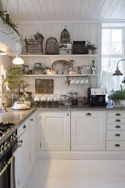 White Rustic Chic Kitchen