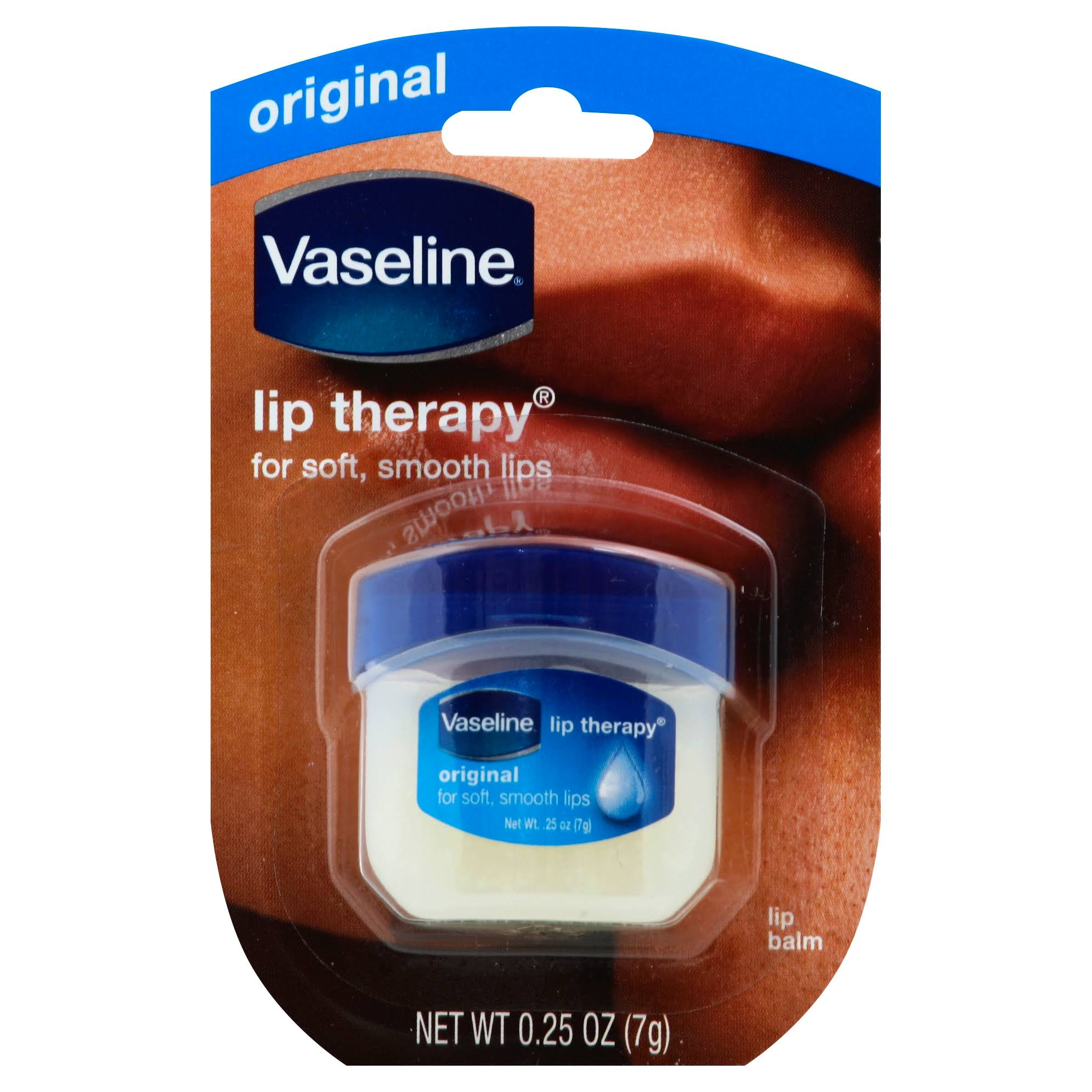 Vaseline Original Lip Therapy - 0.25 Oz
