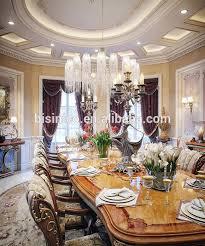 bisini italienischen stil elegante barock intarsien esszimmer möbel europäische klassische holz carving langen tisch für 8 menschen buy barock