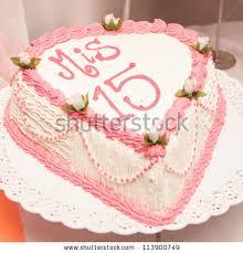 15th Birthday Cake Stock Shutterstock
