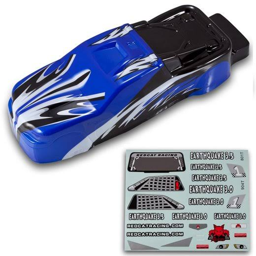 Redcat Racing BS904-013B 1/8 Truck Body - Blue and Black