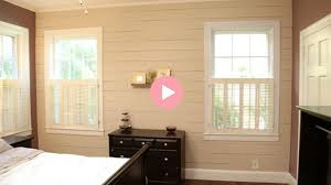 Installing Budget Friendly Shiplap