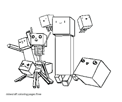Coloring Sheets Pages Minecraft Steve