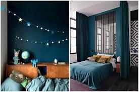 chambre deco bleu osez une déco couleur bleu canard dans votre intérieur