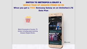 MetroPCS fers Free Smartphone And Amazon Prime To Switch