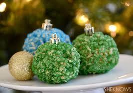 Pin Rice Krispie Ornaments