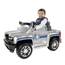 100 Chevy Silverado Toy Truck Amazoncom Rollplay 6 Volt Police Ride On