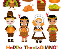 Thanksgiving Digital Clipart Thanksgiving Clipart Pilgrim Clipart