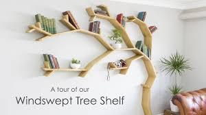 100 Tree Branch Bookshelves Shelf Tour A Quick Look Around Our 21m Windswept Shelf