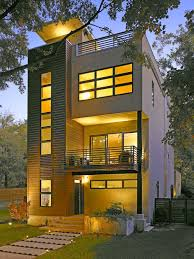 Story Building Design by 3 Story House Modern Houzz