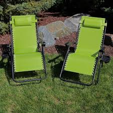 Sunnydaze Outdoor XL Zero Gravity Lounge Chair With Pillow And Cup Holder,  Folding Patio Lawn Recliner, Green, Set Of 2 Phi Villa Outdoor Patio Metal Adjustable Relaxing Recliner Lounge Chair With Cushion Best Value Wicker Recliners The Choice Products Foldable Zero Gravity Rocking Wheadrest Pillow Black Wooden Recling Beach Pool Sun Lounger Buy Loungerwooden Chairwooden Product On Details About 2pc Folding Chairs Yard Khaki Goplus Wutility Tray Beige Headrest Freeport Park Southwold Chaise Yardeen 2 Pack Poolside