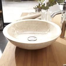 vasque poser marbre vasque a poser maryna marbre noir lavabo