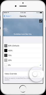 Turn on closed captions and subtitles on your iPhone iPad or