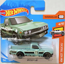 HOT WHEELS 2018 HW HOT TRUCKS DATSUN 620 TEAL #4/10 SHORT CARD ... Amazoncom Hot Wheels 2016 Hw Trucks Dodge Ram 1500 Blue Mega Hauler Truck Carry Case Toy Stunning Jeep Wrangler 2018 Hw 17 1 By Murcielagogirl93 On Deviantart 2017 Ford F150 Raptor And Greenlight 2015 Vs Custom 56 Ford Truck Hot Wheels 108365 Custom 5 Flickr Pickup Bing Images Popular Cars For The Best Prices In Malaysia 1978 Lil Red Express 15 Land Rover Defender Double Cab Pale Green Rad Newsletter Chevvy Assorted Big W