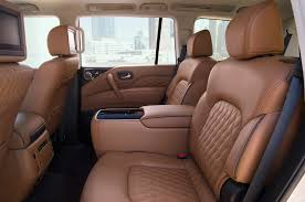 2018-Infiniti-QX80-interior-rear-seats - The Fast Lane Truck Building A Center Console For Truck Making Cheap Peterbilt Seats Find Deals On Line At Alibacom Semi Top Car Release 1920 Mack New Reviews And Used Parts American Chrome 5 Best Long Drives Savedelete We Talked To The Tesla Model S Driver Rearended By 40ton Nikola Corp One Image Kusaboshicom Cobra Classic Rs Racing Seat Minimizer Introduces Youtube