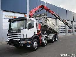 Scania P 124.420 8x4 Retarder Steel Fassi 21 Ton/meter Kran, Year Of ...