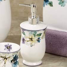 Betty Boop Bath Set by French Floral Ceramic Bath Accessories Floral Bathroom Accessories