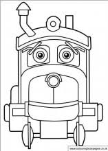 Free Chuggington Colouring Pages