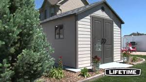 lifetime 11 x 13 shed model 6415 youtube