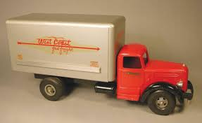 Smith Miller, Toy Truck, Original, West Coast Fast Freight Box Van ...
