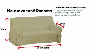 canape panama housse de canapé panama 3 places les douces nuits de maé
