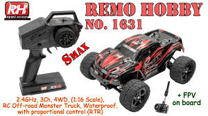 100 Waterproof Rc Trucks For Sale REMO HOBBY 1631 Smax 24GHz 3Ch 4WD 116 Scale RC Offroad