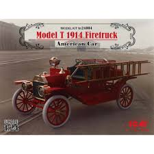 ICM 1/24 Model T 1914 Firetruck American Car   TowerHobbies.com 172 Scale Diecast Model Ifa W50 German Fire Truck Firehouse Co Irish Engine Die Cast Freightliner M2 106 Crew Cab 2017 3d Model Hum3d Giant Toy Pull Back Alloy Kid Gift With Amazoncom Quint Pierce Usa 2005 Diecast 187 Fire Truck 1939 Ford At Historic Greenfield Village And Henry Ssb Resins Running Lights And Sirens On A Street Motion 2018 The United States Engines Cloud Ladder Car Ex Mag 164 Metz Unimog S404 Dx048 High Simulation Mini Vehicles Kids