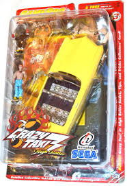 Crazy Taxi 3 High Roller ANGEL Figures And Vehicle. Detailed Vehicle ...