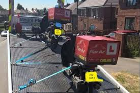 Four Pizza Hut Mopeds Were Stolen In Sheffield Earlier This Week