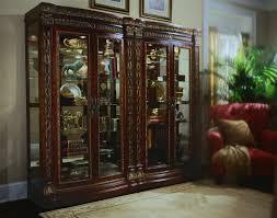 Pulaski Furniture Curio Cabinet by Pulaski Royale Bunching Curio Pf 575800 At Homelement Com