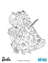 Princess Tori And Keira Popstar Barbie Printable Color Online Print