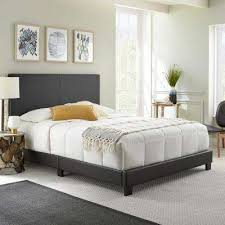 Backboards For Beds by Queen Beds U0026 Headboards Bedroom Furniture The Home Depot