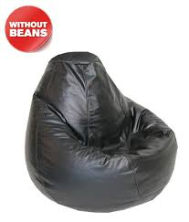 Black Leather Bean Bag Cover (Without Beans) XL - Buy Black ... Fussball Bean Bag Gaming Recliner Faux Leather Pixel Gamer Chair Leatherdenim Jaxx Bags Shop 5foot Memory Foam On Sale Free Shipping Giant 6foot Moon Pod Space Gray Buy The Fatboy Original Beanbag Online Large Beanbag Sofas Lounger Sofa Cover Waterproof Stuffed Cordaroys Full Size Convertible By Lori Greiner Aloha In Azure King Kahuna Beanbags Diy A Little Craft In Your Day Greyleigh Reviews Wayfair