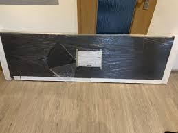 arbeitsplatte küche 210x60 beton grafite grau in 83451