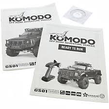 100 Komodo Truck Gmade 110 Rock Crawler OWNERS INSTRUCTION MANUAL PARTS